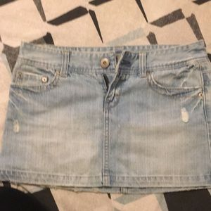 American Eagle jean skirt size 6